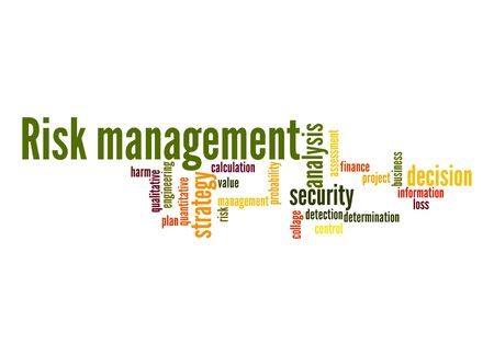 quantitative: Risk-management-word-cloud