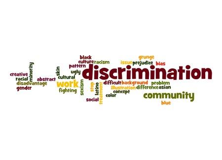 discriminacion: Discriminaci�n nube de palabras
