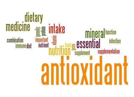 antioxidant: Antioxidant word cloud