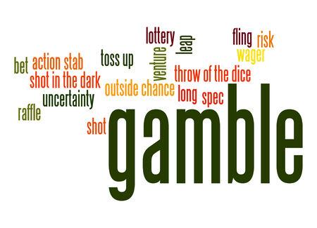 better chances: Gamble word cloud