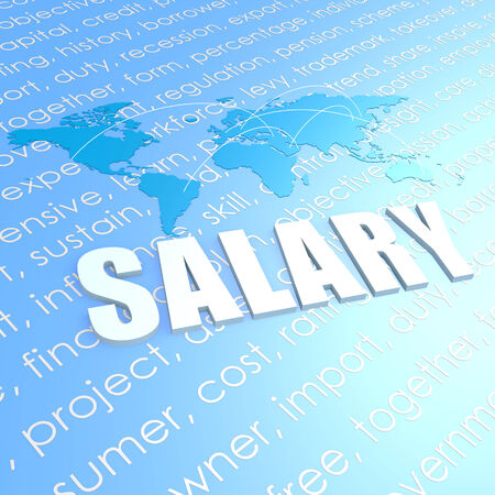 earn more: Salary world map
