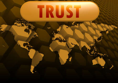 Trust world map photo