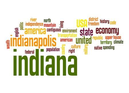 indiana: Indiana word cloud