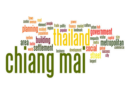 chiangmai: Chiang Mai word cloud