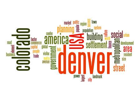 denver: Denver word cloud