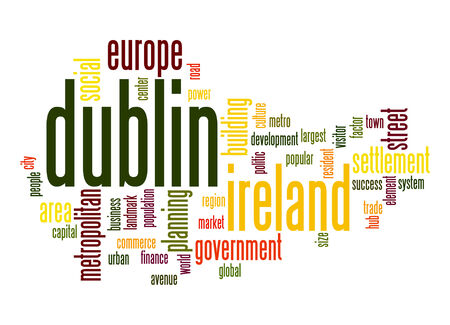 dublin: Dublin word cloud