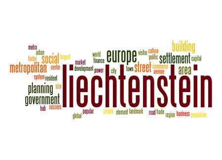 liechtenstein: Liechtenstein word cloud