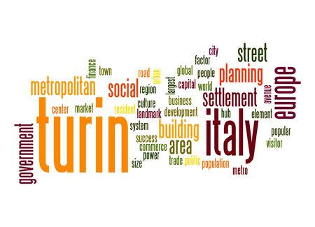 turin: Turin word cloud