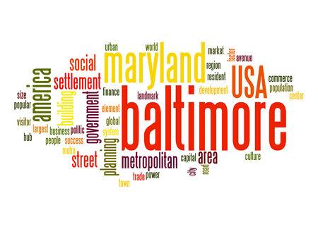 baltimore: Baltimore word cloud