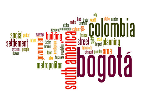 Bogotá word cloud