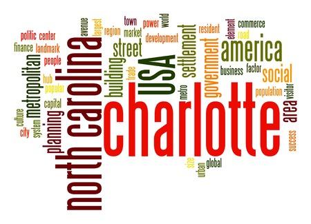 resident: Charlotte word cloud