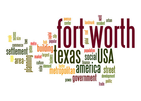 fort: Fort Worth word cloud