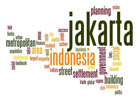 jakarta: Jakarta word cloud