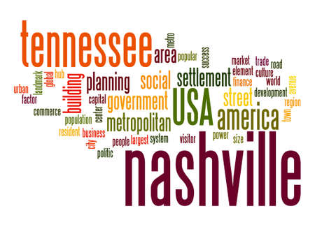 resident: Nashville word cloud