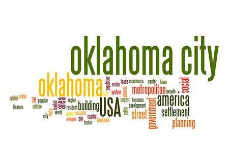 oklahoma city: Oklahoma City word cloud
