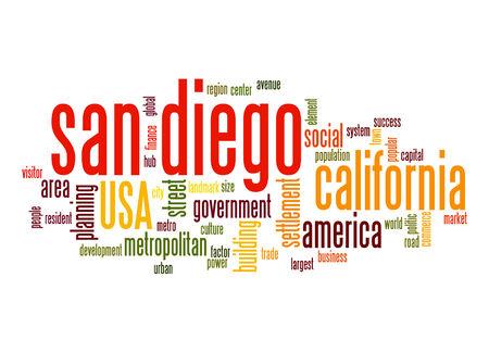 uniting: San Diego word cloud