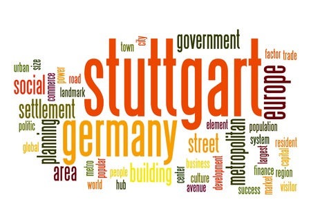 stuttgart: Stuttgart word cloud