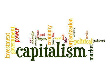 capitalismo: Capitalism word cloud