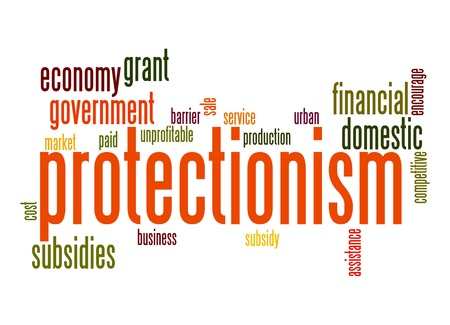 protectionism: Protectionism word cloud
