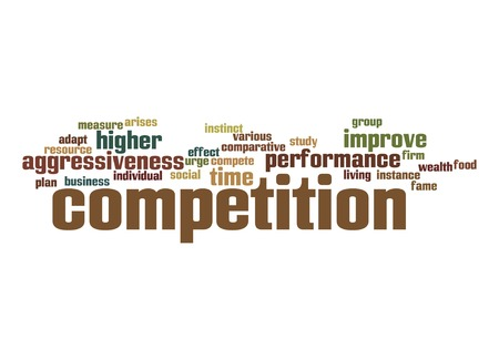 arises: Competition word cloud