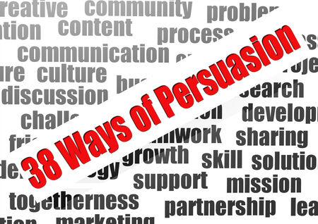 38 ways of persuasion word cloud
