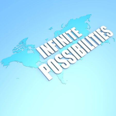 unrestricted: Infinite possibilities world map