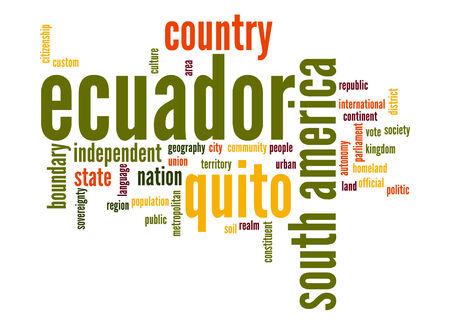 Ecuador word cloud