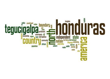 Honduras word cloud