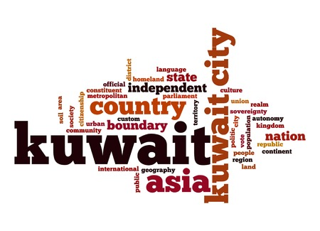 kuwait: Kuwait word cloud