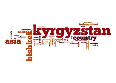kyrgyzstan: Kirguist�n nube de palabras
