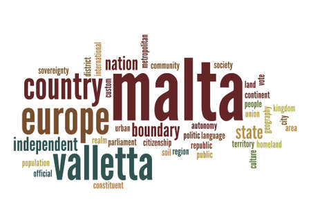 malta: Malta word cloud