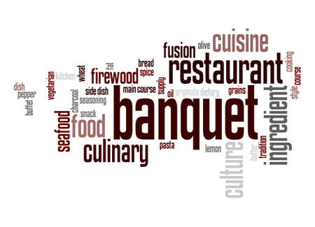 originate: Banquet word cloud