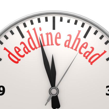tardiness: Deadline ahead clock