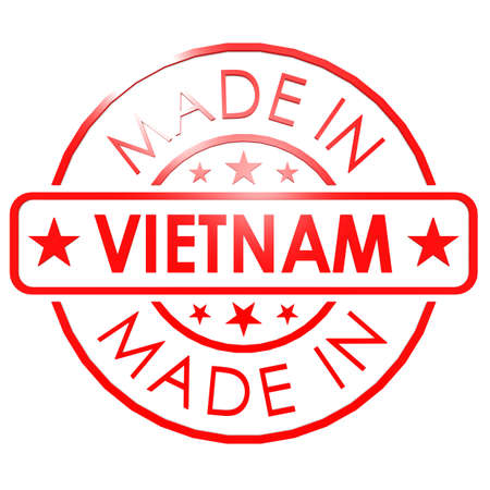 Made in Vietnam red seal photo