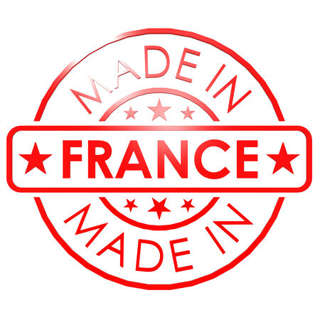 Made in France red seal photo