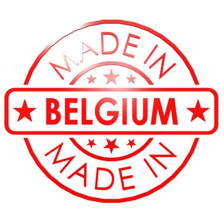 made in belgium: Made in Belgium red seal