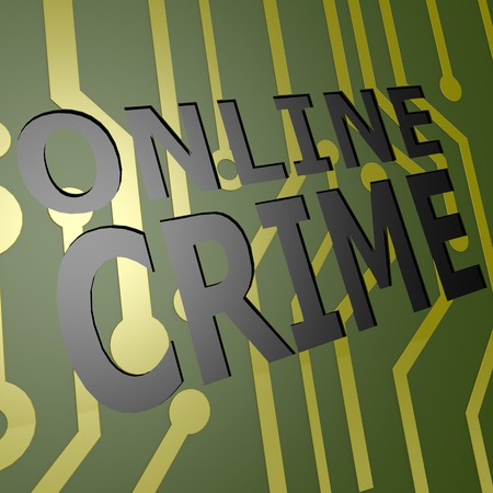 PCB Board with online crime photo