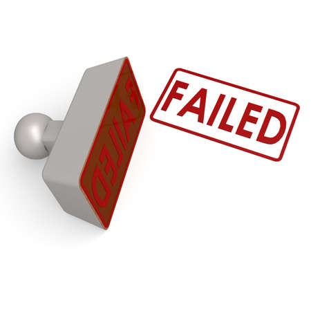 failed: Failed stamp