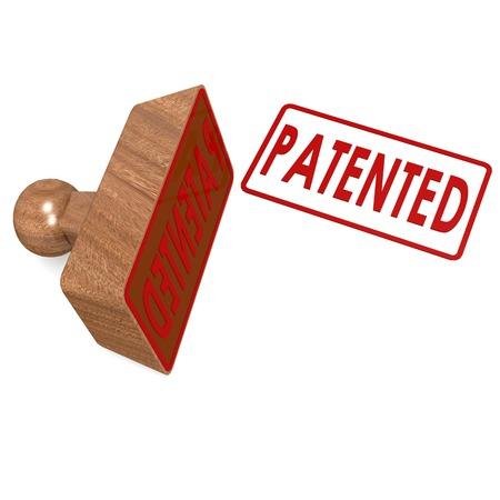 Patented stamp photo