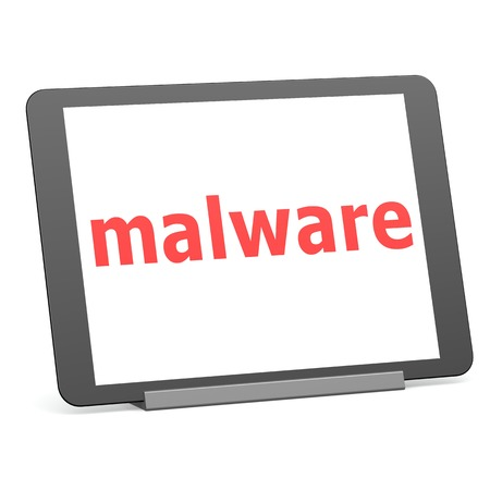 Tablet malware photo