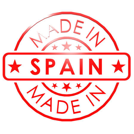 made in spain: Made in Spain red seal