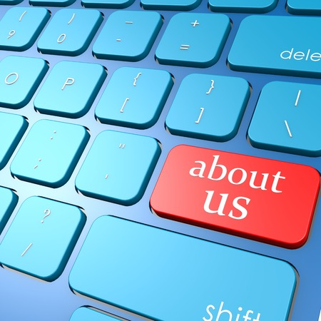 about us: About us keyboard