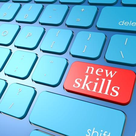 New skills keyboard photo