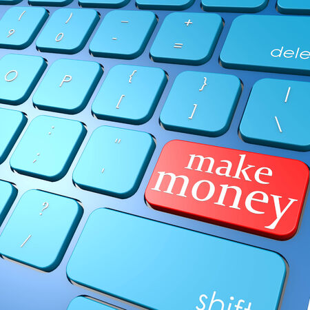 Make money keyboard photo