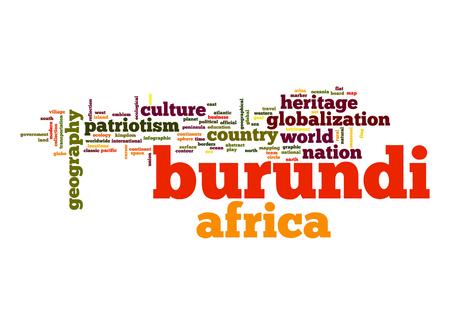 burundi: Burundi word cloud