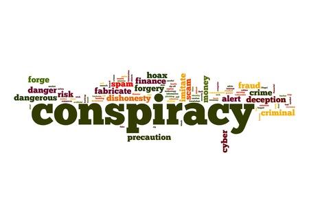 conspiracy: Conspiracy word cloud
