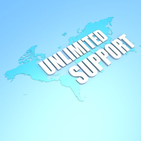 unlimited: Unlimited support world map