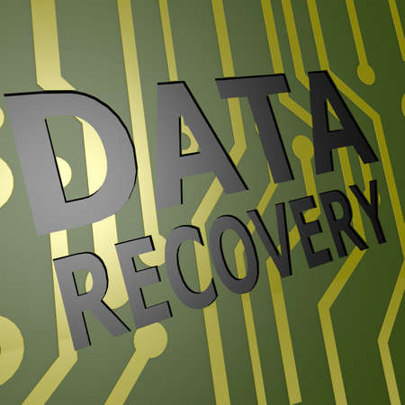 data recovery: PCB Board with data recovery