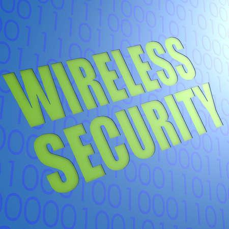 Wireless security photo
