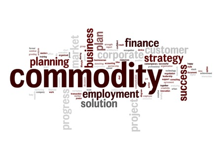 Commodity word cloud photo